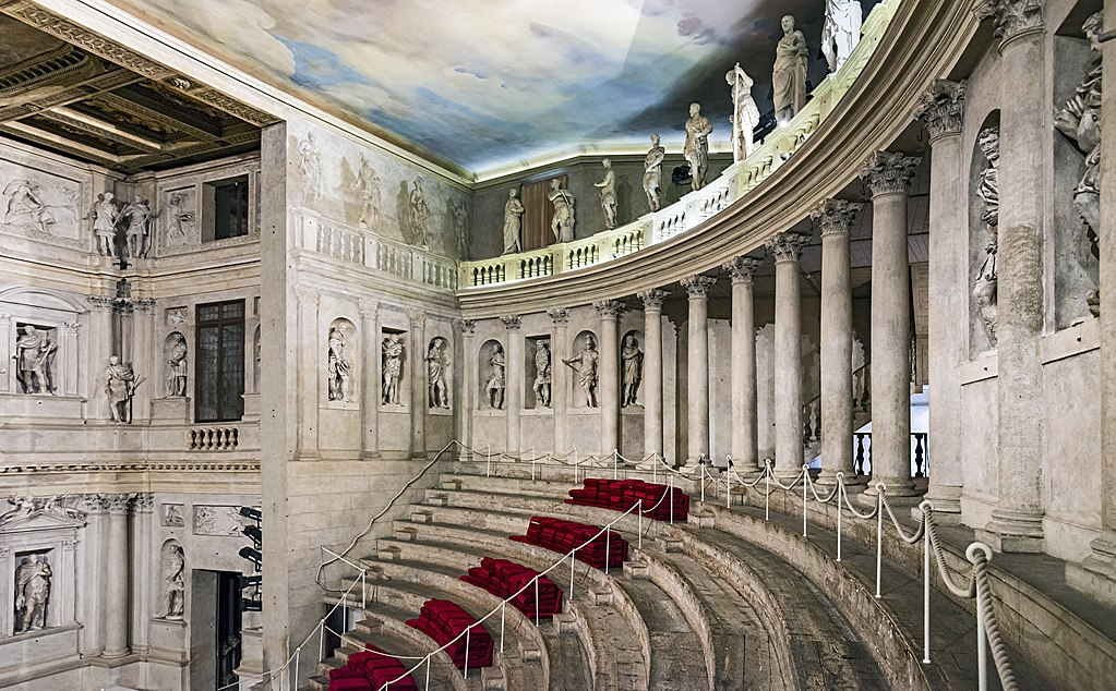 Olimpic theatre in Vicenza, Italy