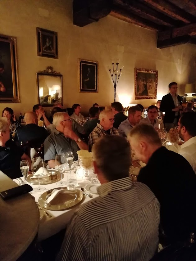 FAREWELL DINNER2 – RESTAURANT BELLE ARTI – PADOVA
